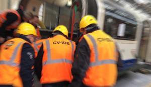 CV-IDE engineers at LU depot